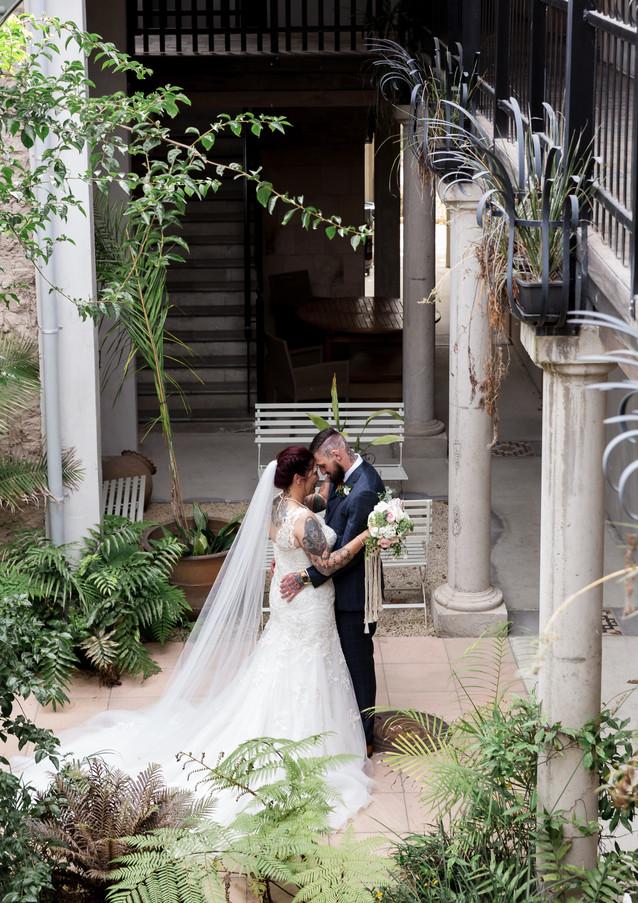 Wedding photo at The Milk Station Wellington Wedding Photographer _2