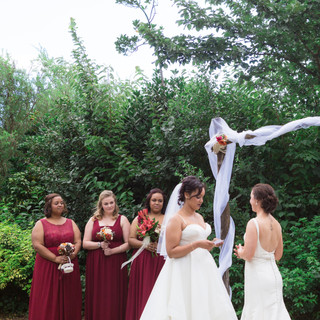 Gay wedding ceremony at Tarureka Estate in Wellington, New Zealand