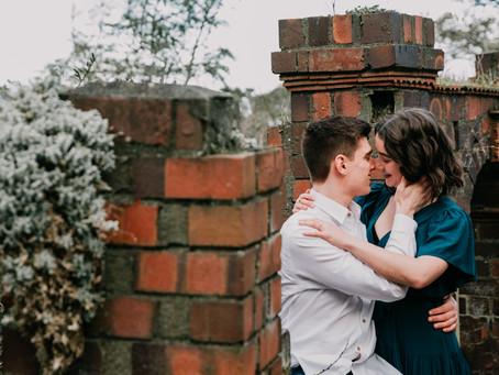 Wellington Engagement Photographer | Truby King Gardens | Jess & Dan