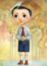 niño tímido