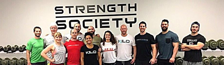 Kilo Strength Society Seminar photo of coaches