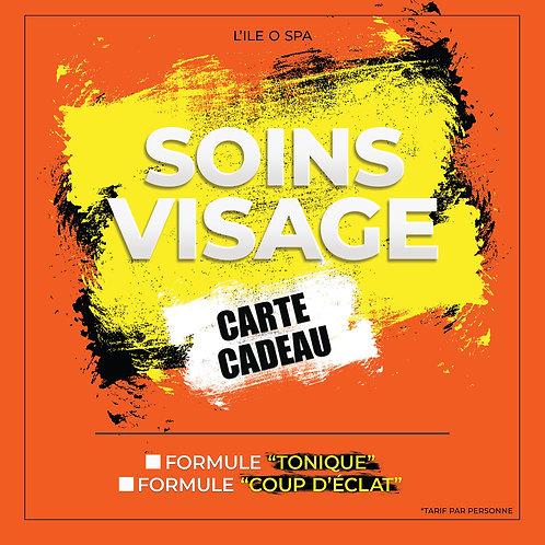 Carte Cadeau  - Soins Visage ( Coup d'éclat )