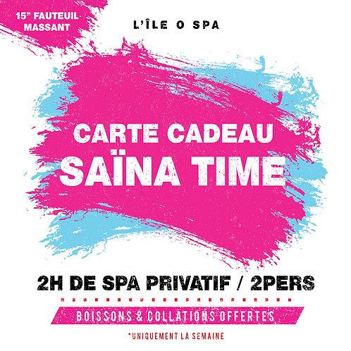 Carte Cadeau - Saïna Time