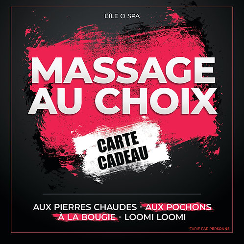 Carte Cadeau - Massage