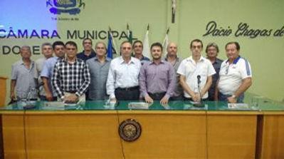 Visita a Câmara Municipal de Vereadores de Dores do Indaiá
