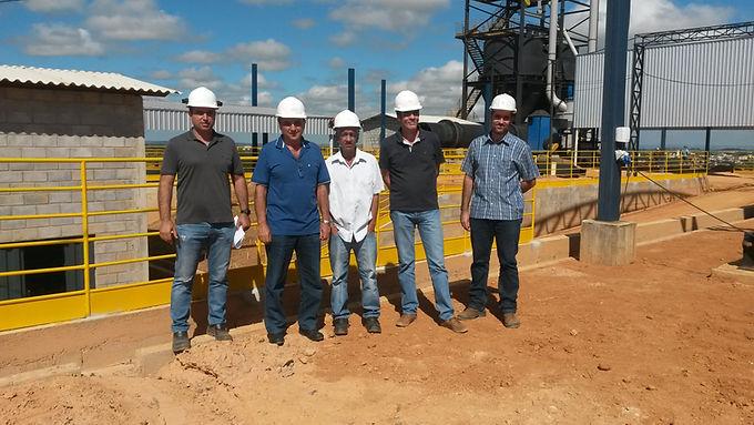 Visita dos Diretores do MDL Ambiental e Kalium Mineração