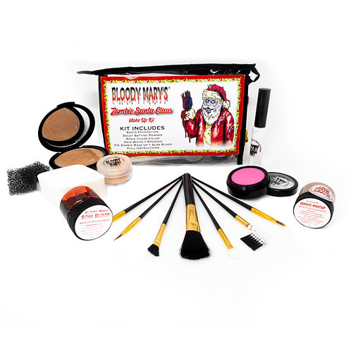 Zombie Santa Claus Makeup Kit