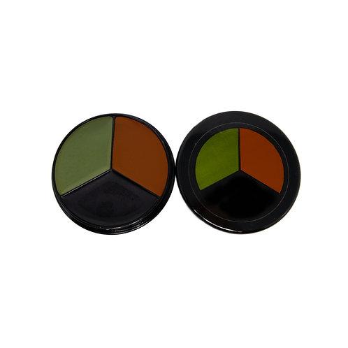 Bobbie Weiner's Huntsman Tri-Color Camo Face Paint™