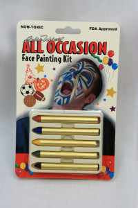 5-Stick All-Occasion Face Paint Kits