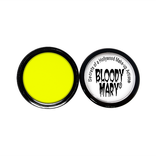 Neon Blacklight Yellow Eyeshadow