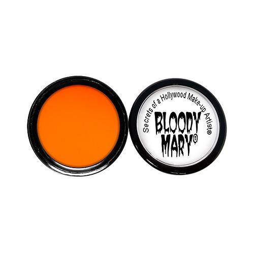 Neon Blacklight Orange Eyeshadow