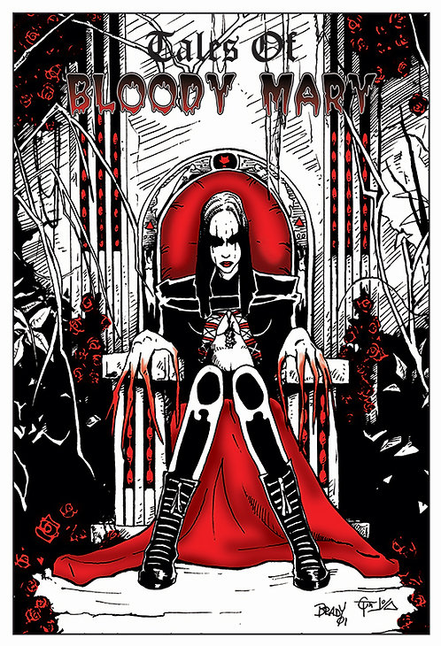 Tales of Bloody Mary Poster 2 - Throne