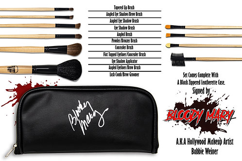 Secrets Of A Holly Wood Makeup Artist Professional 10-Piece Brush Set