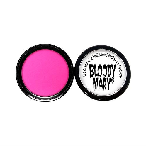 Neon Blacklight Pink Eyeshadow