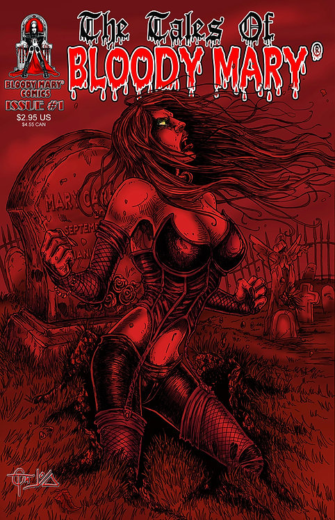 Tales of Bloody Mary #1 - Reprint Variant