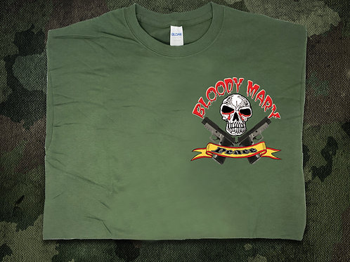 Bloody Mary's Guns and Peace T-Shirt