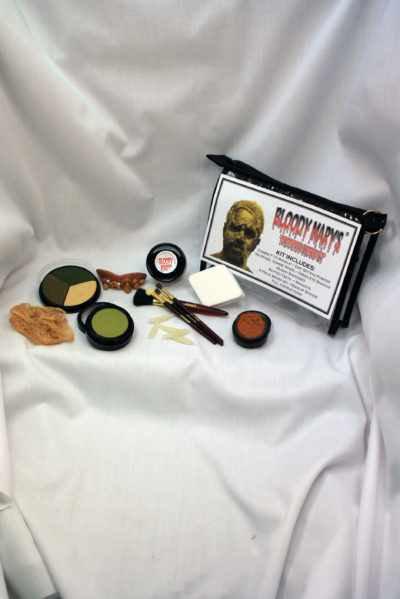 Mummified Zombie Make Up Kit