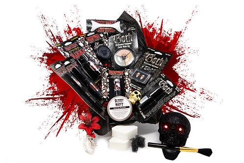 Vampiress Deluxe Makeup in a Coffin