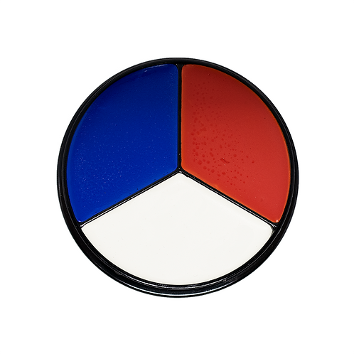 All American Tri-Color (Red White Blue)