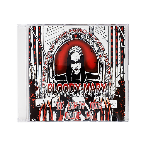 Blood Mary Advanced Makeup How-To DVD