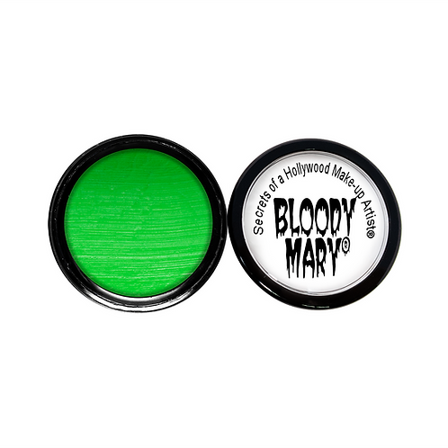 Blacklight Green Water Paint