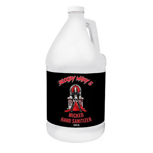 Bloody Mary's Wicked Hand Sanitizer 128 oz. Gallon