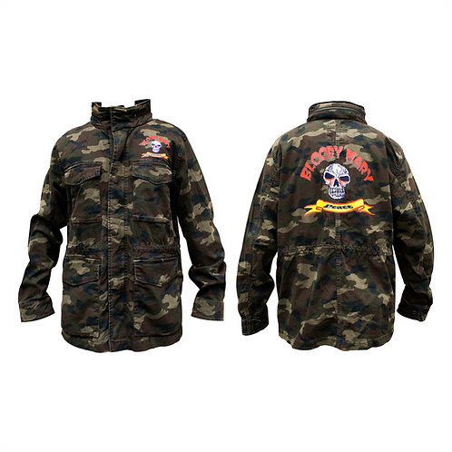 Bloody Mary Peace Camo Jacket