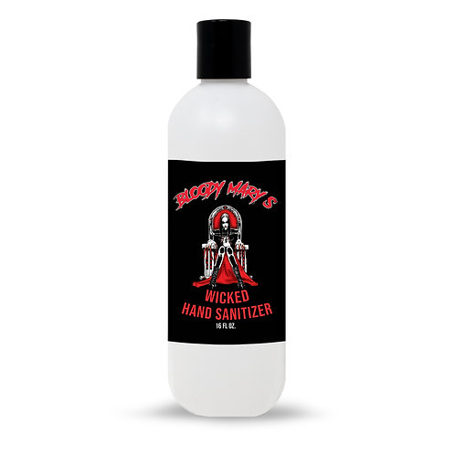 Bloody Mary's Wicked Hand Sanitizer 16 oz. Bottle