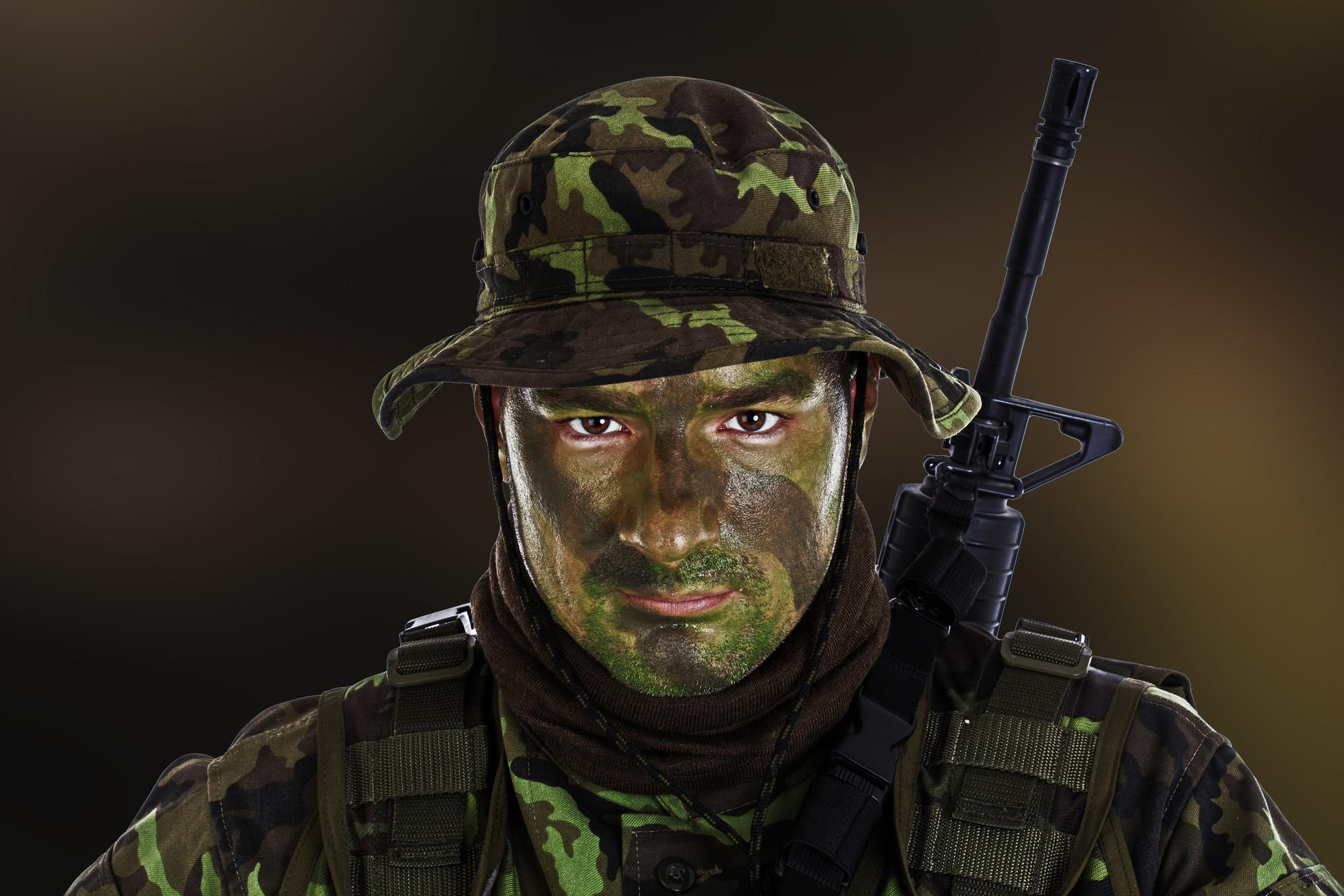 Camouflage Face Paint Bobbie Weiner S Camo Paint