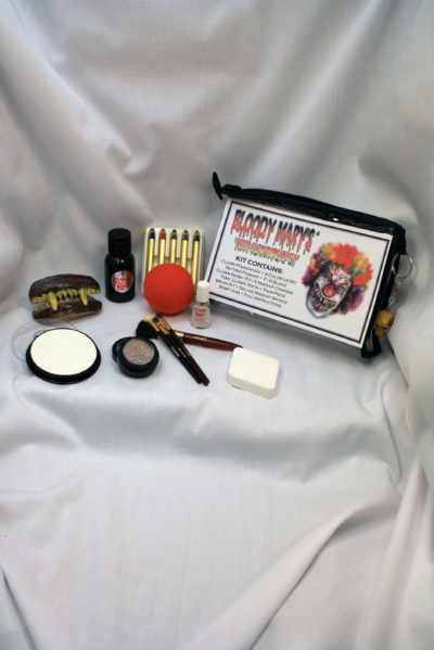 Toxic Clown Makeup Kit