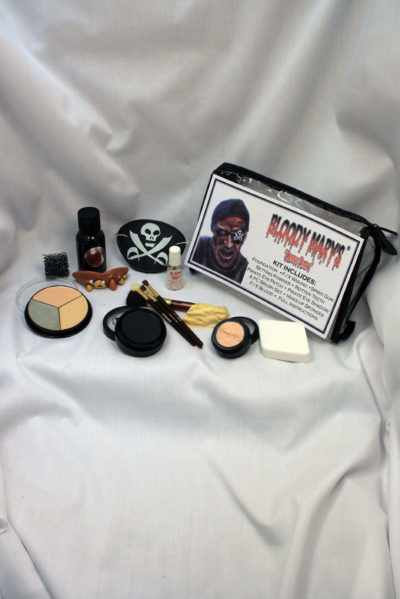 Zombie Pirate Makeup Kit