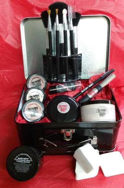 Theatrical Make-up Kit (In Bloody Mary Lunch Box)