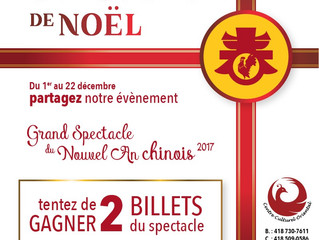 CONCOURS- Grand Spectacle du Nouvel An Chinois 2017