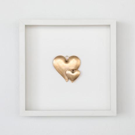 Heart Charms: Pair