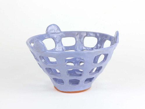 Blue Fruit Basket