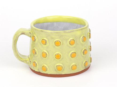 small hand built mug