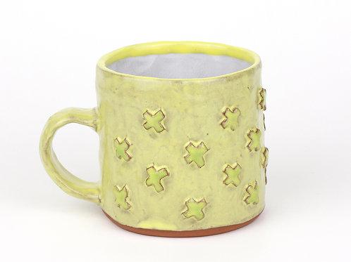 large hand built mug
