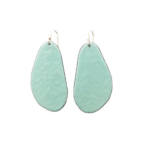 large slab earrings