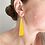 Thumbnail: long slab earrings
