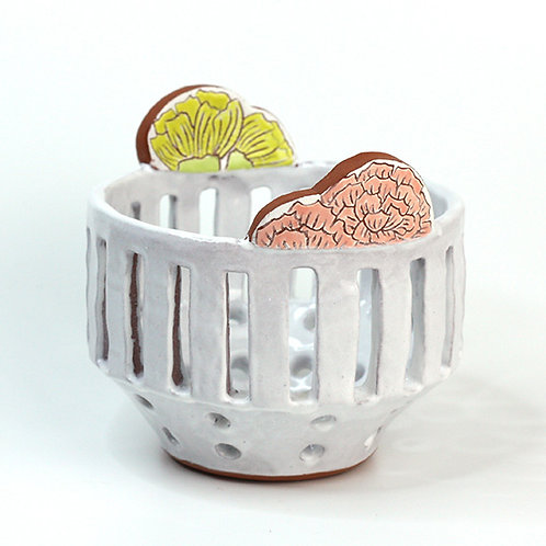 small hand built berry basket