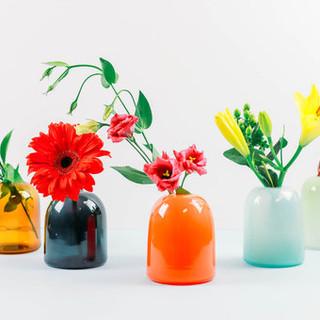 gumdrop vases
