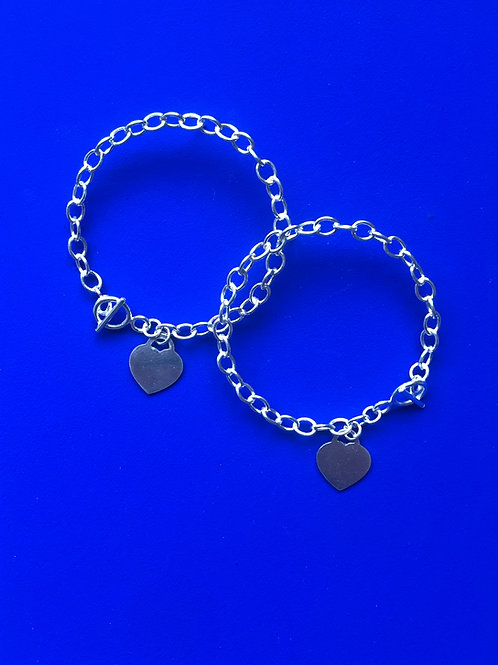 charm bracelet earrings