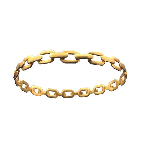 mid-chainlink bracelet