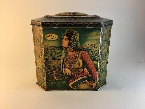 Iranian Tea Tin