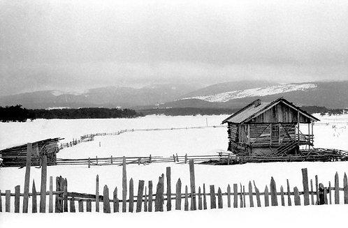 Snow in Kars