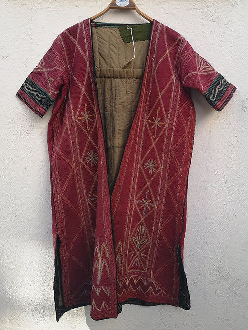 Afghan short sleeves dress