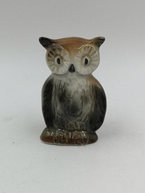 Porcelain owl