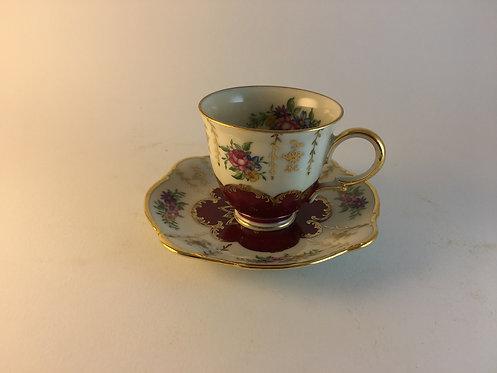 Zeh Scherzer Bavaria Porcelain Coffee Cup