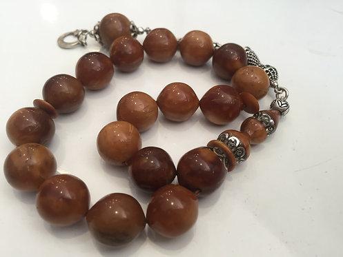 Coca Wood AbdulAziz Imame Mascot Worry Beads