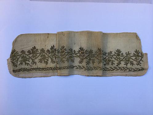 Hand Embroidered Antique Ottoman Cotton Peshkir Towel